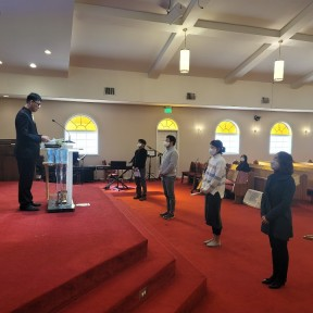 신령직 직분자 임명예배