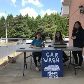 교육부서 Car Wash Fundraising